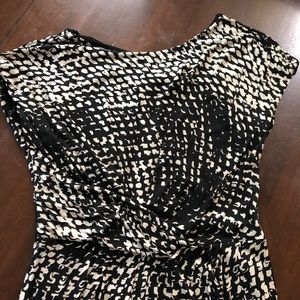 MaxMara Dresses - MaxMara rayon shift dress with front ruching